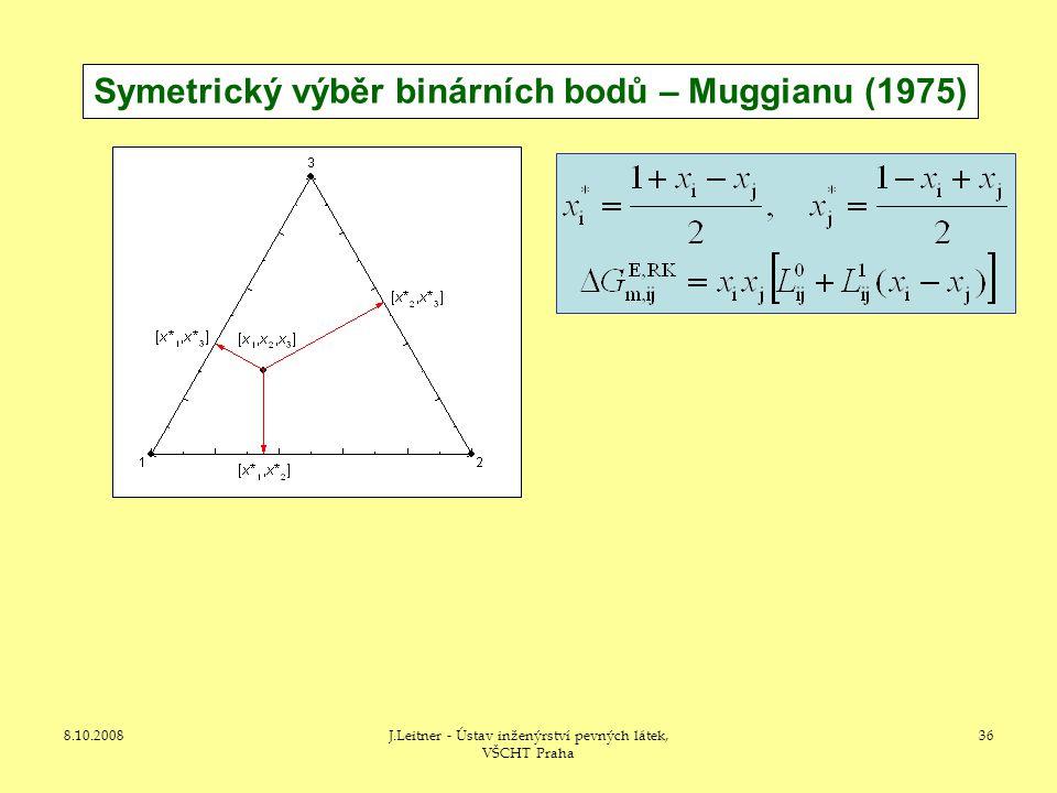 Symetrický výběr binárních bodů – Muggianu (1975)