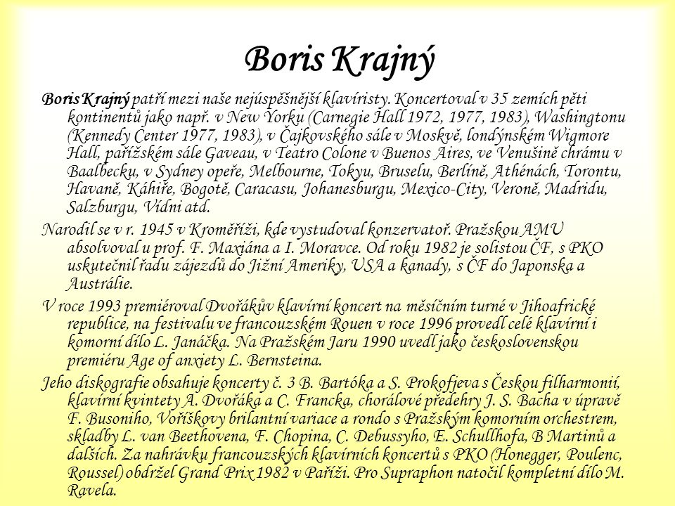 Boris Krajný