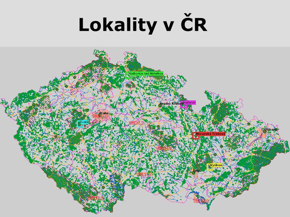 Lokality v ČR