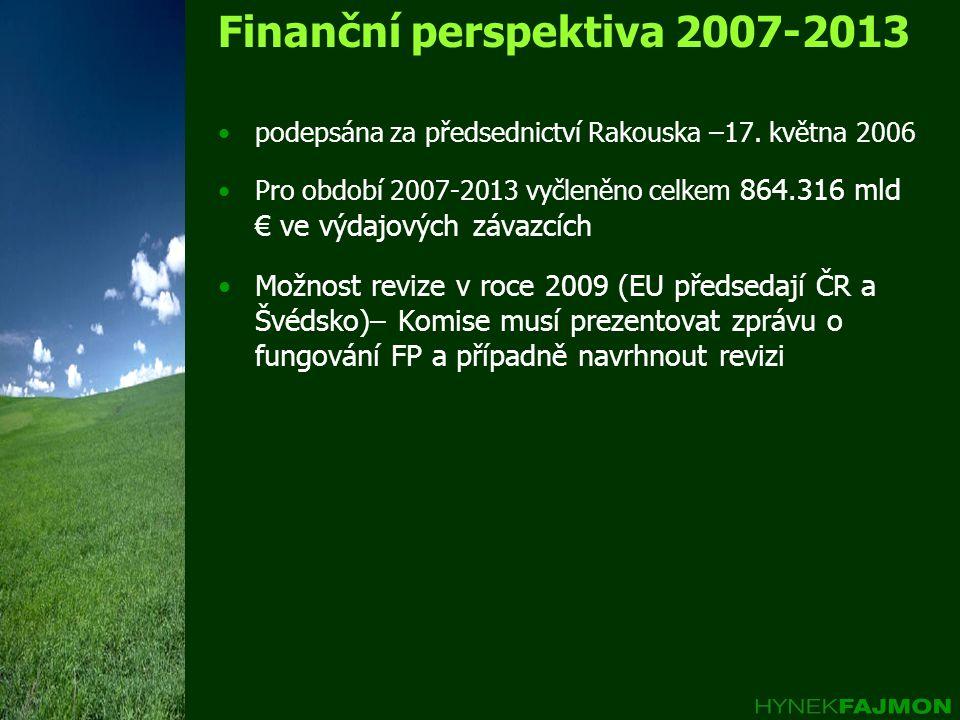 Finanční perspektiva 2007-2013