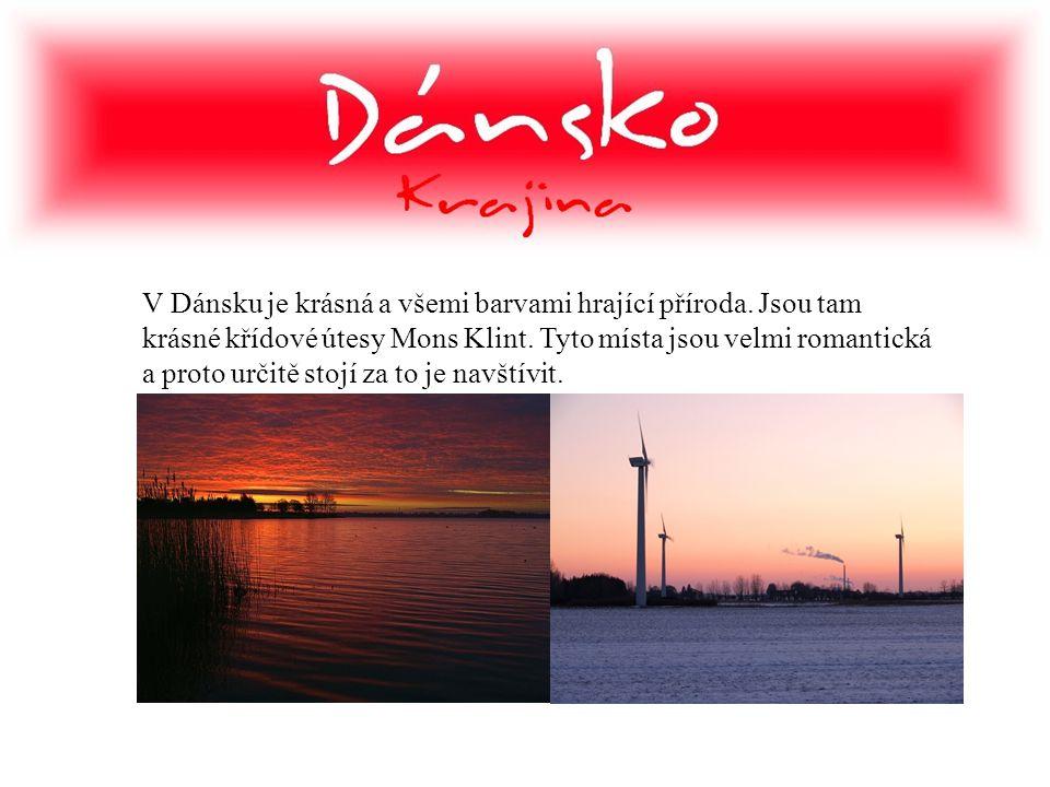 V Dánsku je krásná a všemi barvami hrající příroda