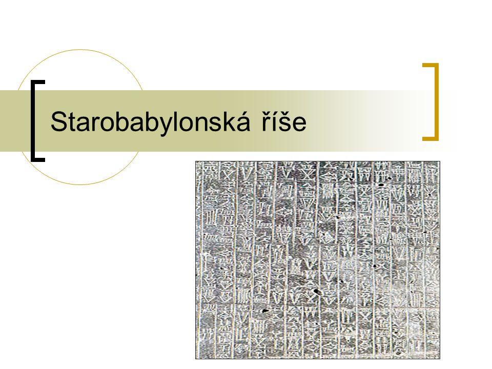 Starobabylonská říše