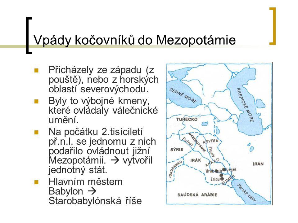 Vpády kočovníků do Mezopotámie
