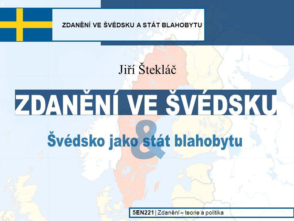 Švédsko jako stát blahobytu