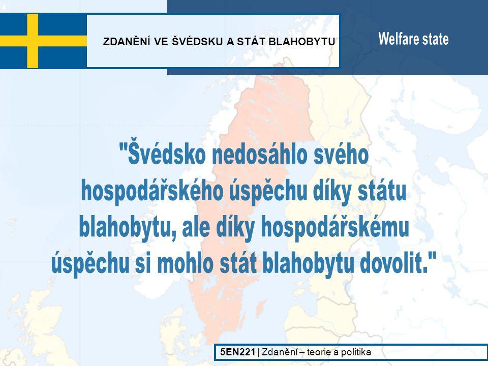 Švédsko nedosáhlo svého hospodářského úspěchu díky státu