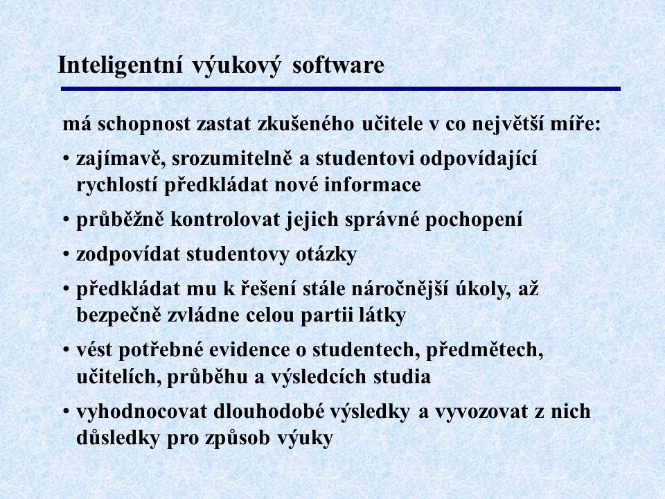 Inteligentní výukový software