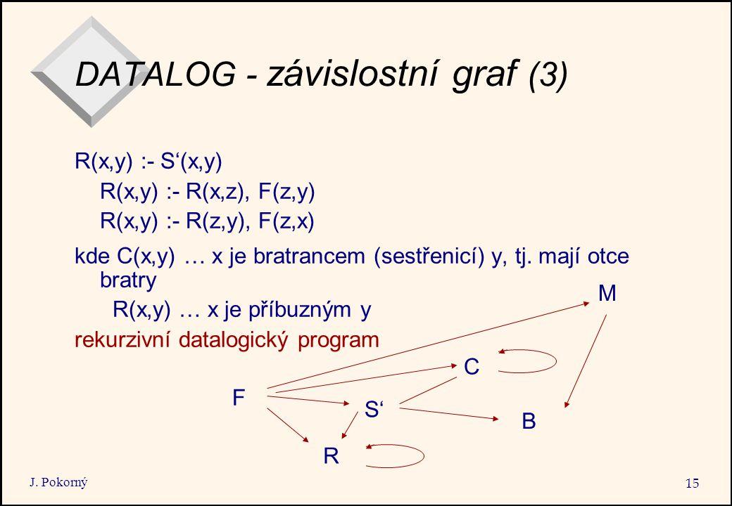 DATALOG - závislostní graf (3)