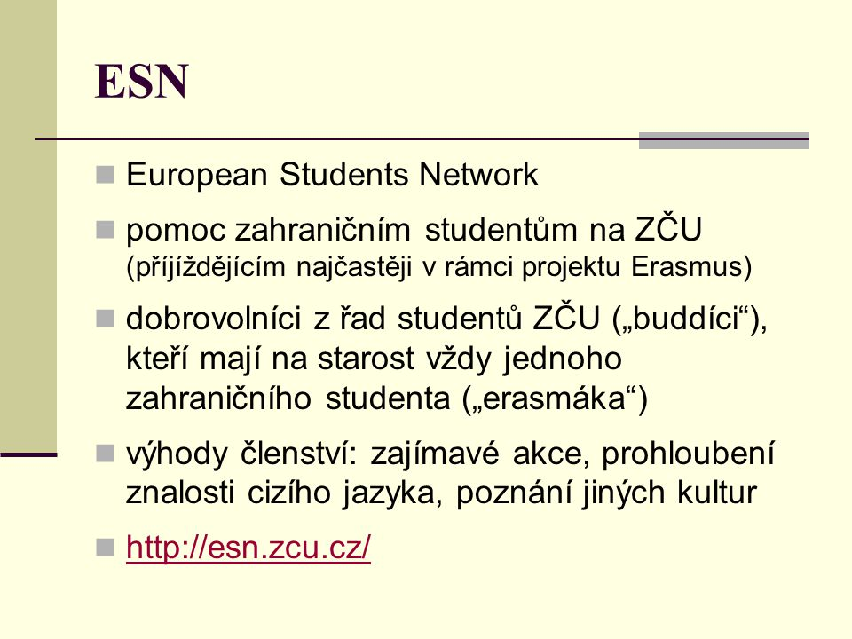ESN European Students Network