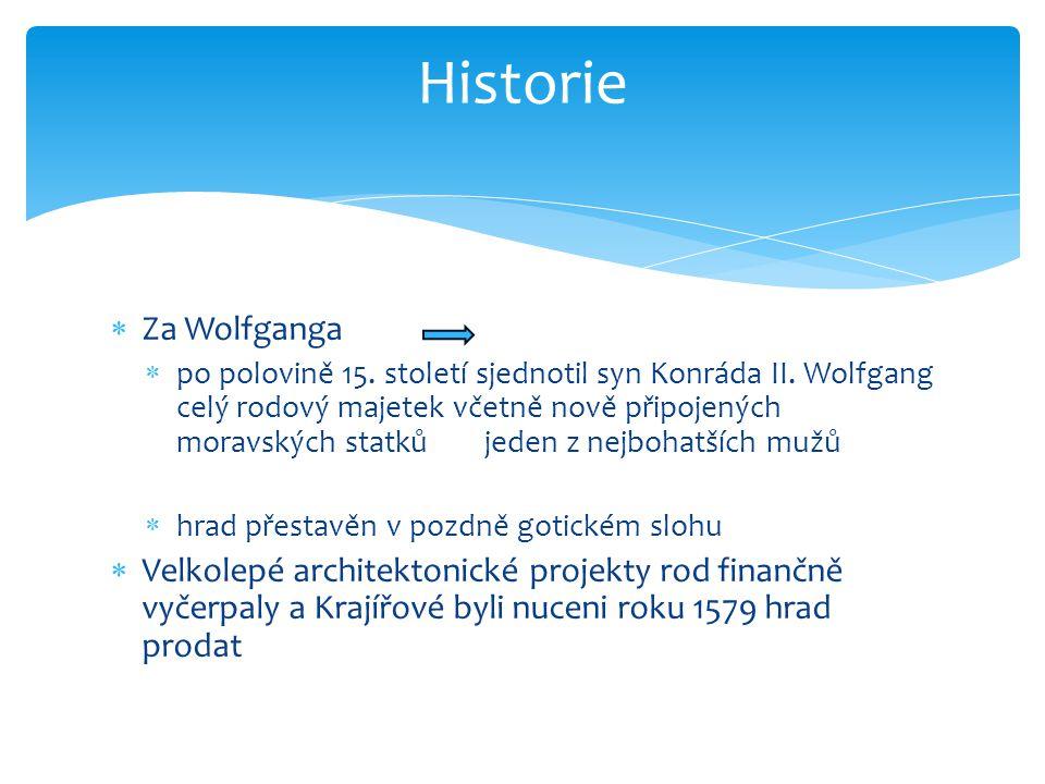 Historie Za Wolfganga.