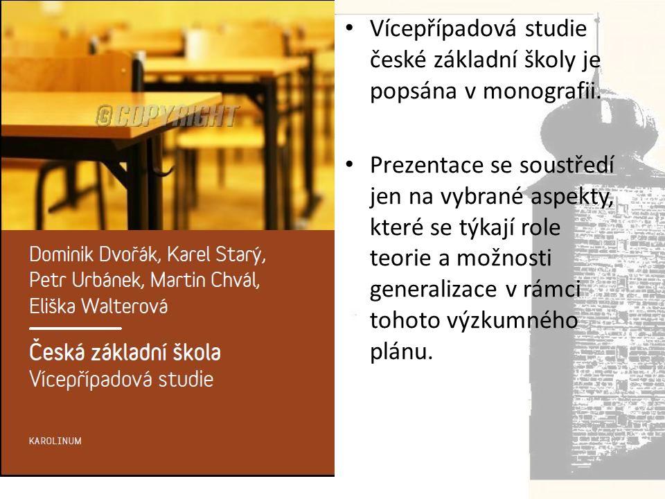 Vícepřípadová studie české základní školy je popsána v monografii.