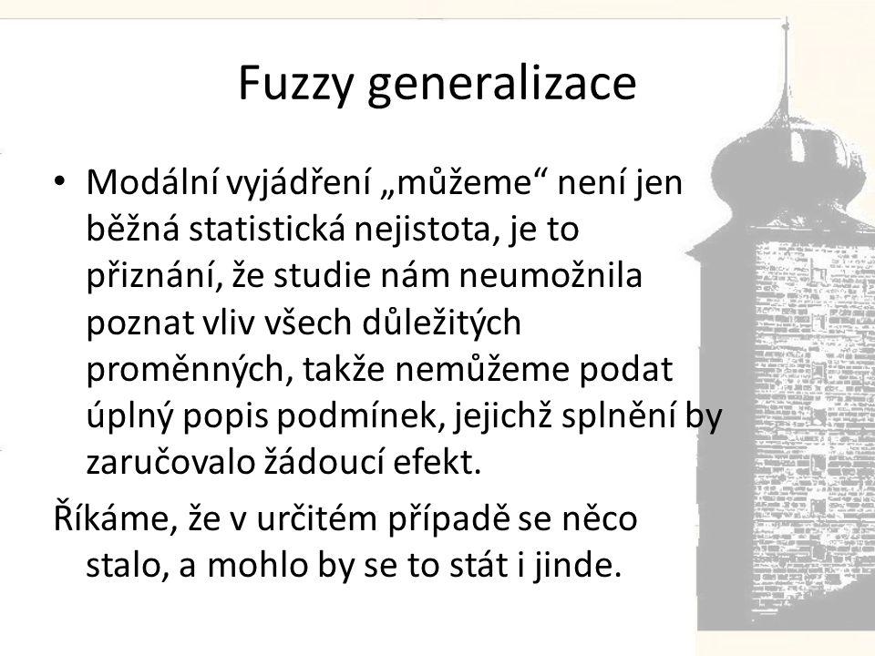 Fuzzy generalizace