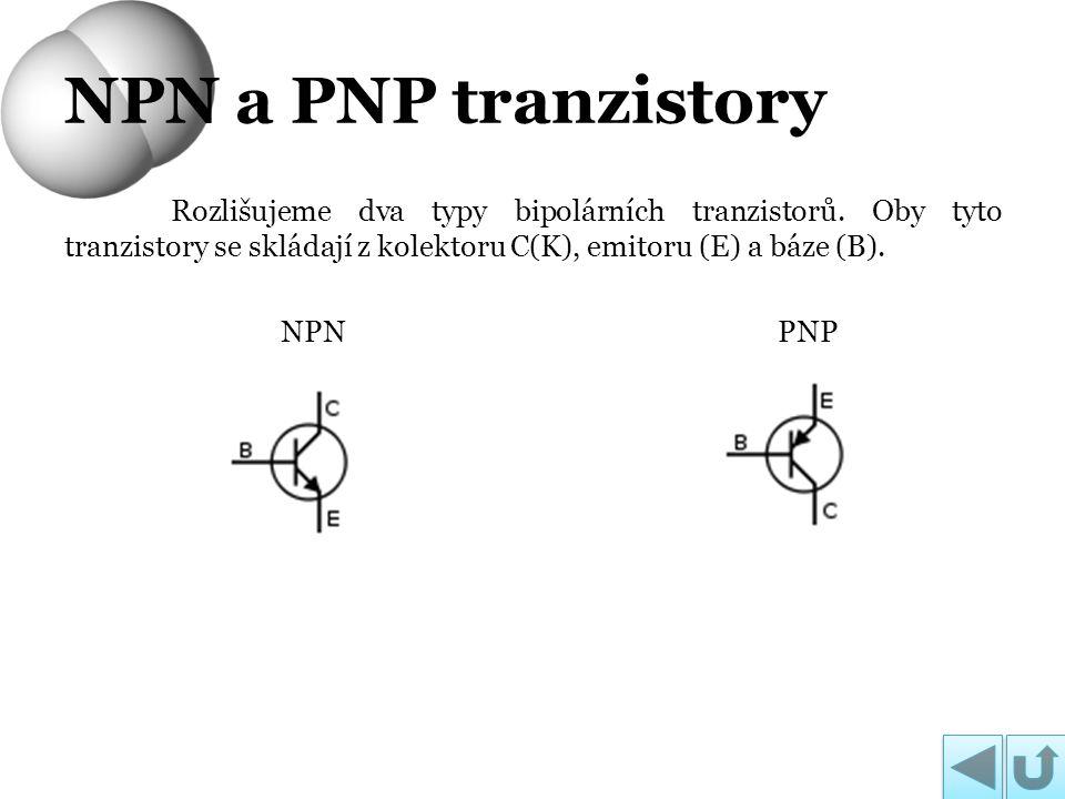 NPN a PNP tranzistory