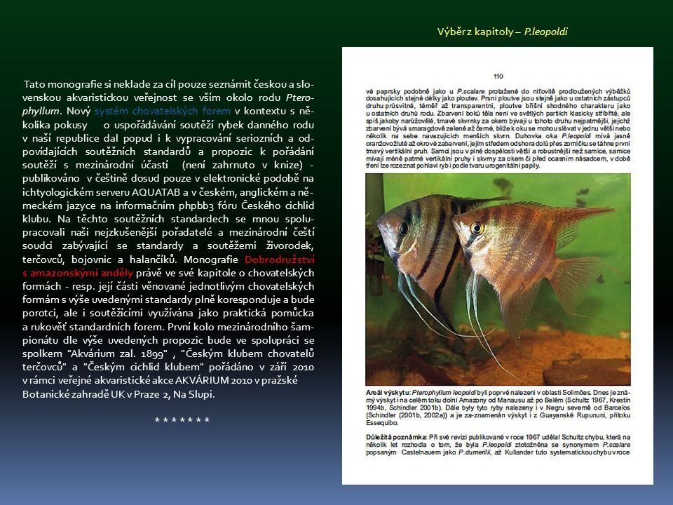 Výběr z kapitoly – P.leopoldi