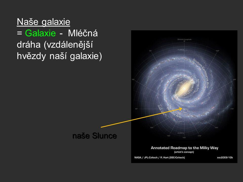 = Galaxie - Mléčná dráha (vzdálenější hvězdy naší galaxie)