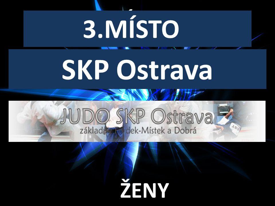 SENIORSKÝ KLUB ROKU 3.MÍSTO SKP Ostrava ŽENY