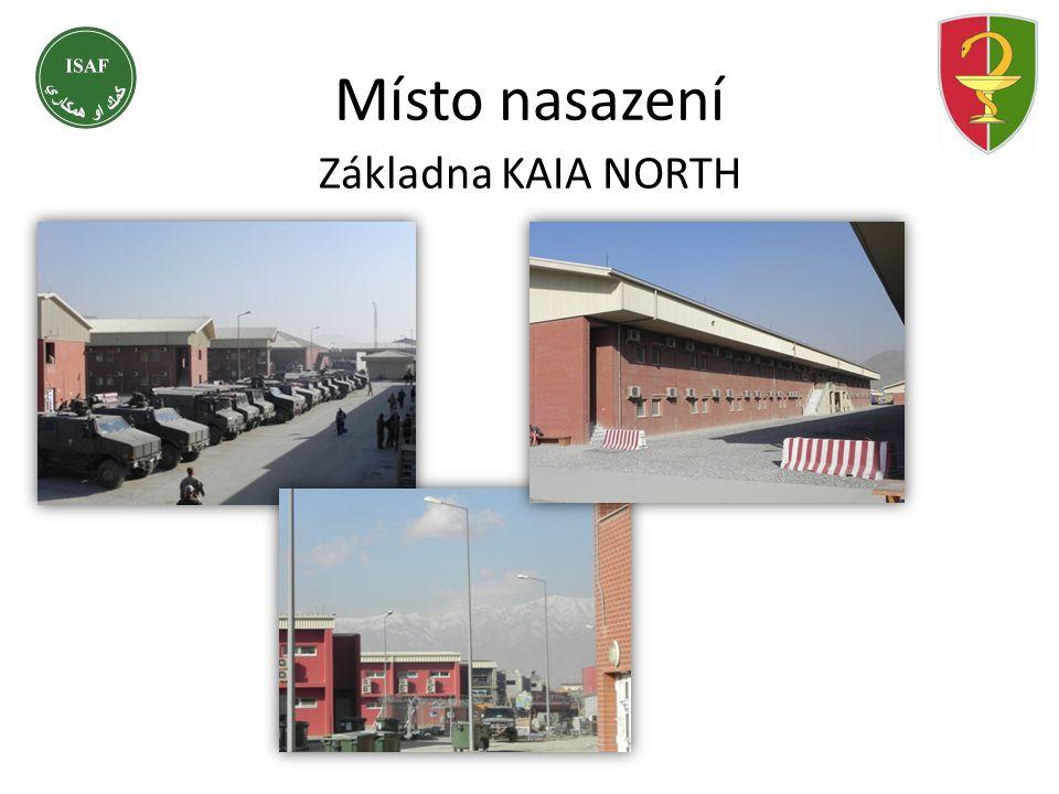 Místo nasazení Základna KAIA NORTH