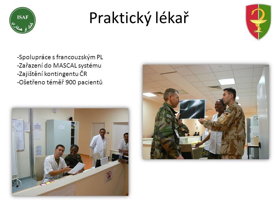 Praktický lékař -Spolupráce s francouzským PL