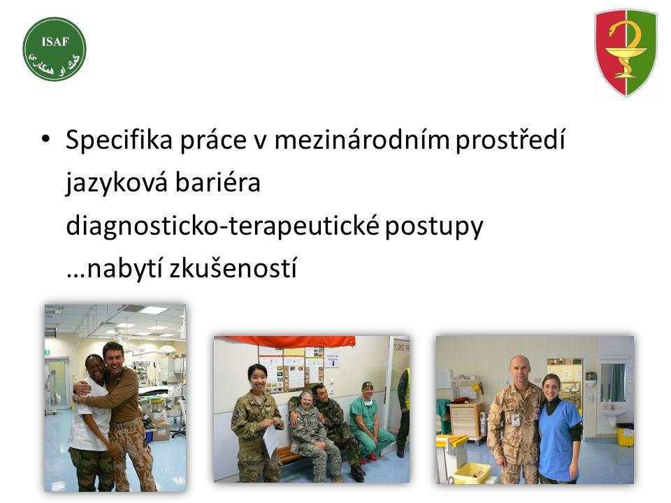 Specifika práce v mezinárodním prostředí