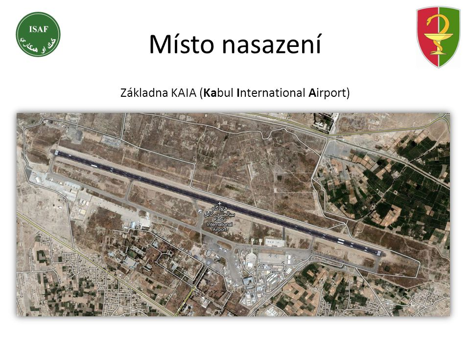 Základna KAIA (Kabul International Airport)