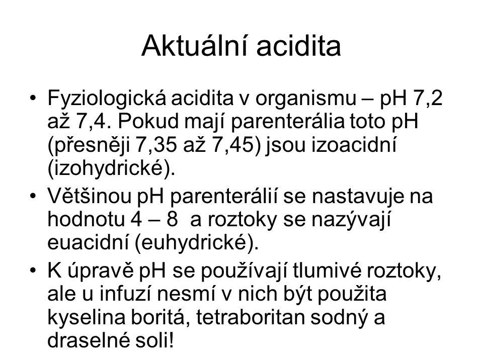 Aktuální acidita