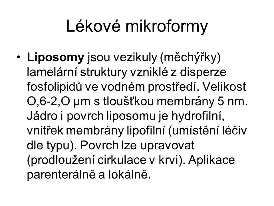Lékové mikroformy