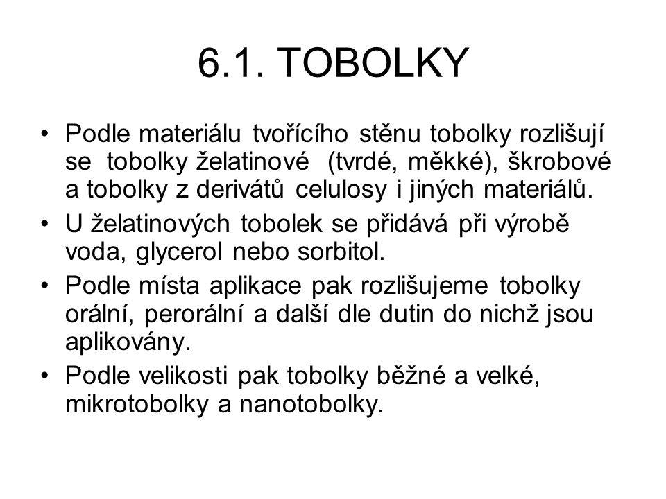 6.1. TOBOLKY