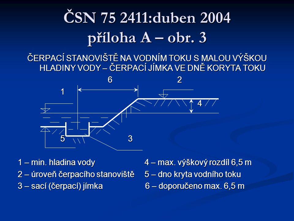 ČSN 75 2411:duben 2004 příloha A – obr. 3