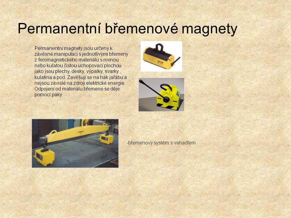 Permanentní břemenové magnety