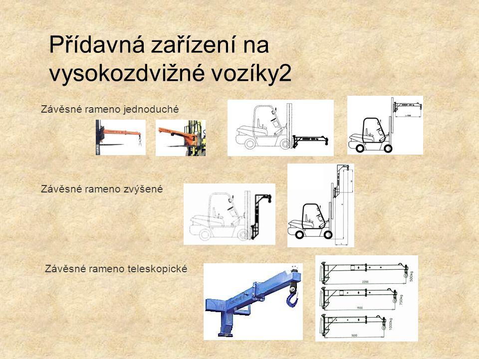 Přídavná zařízení na vysokozdvižné vozíky2