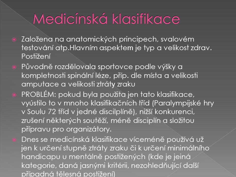 Medicínská klasifikace