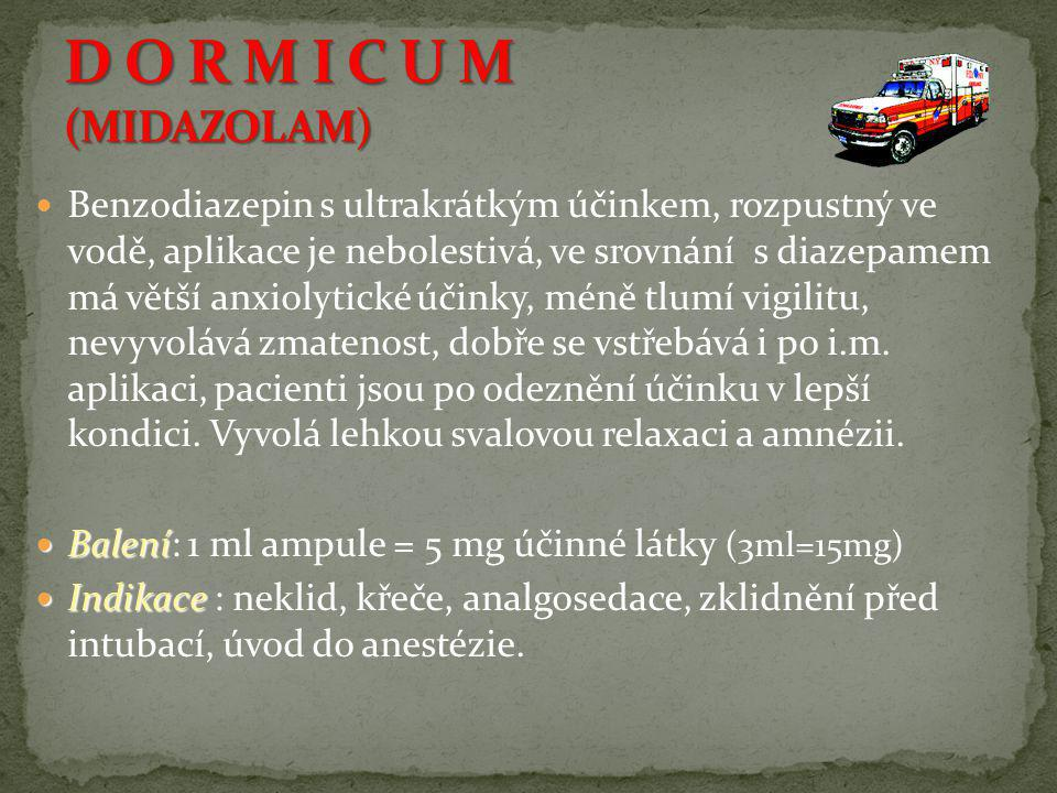 D O R M I C U M (MIDAZOLAM)