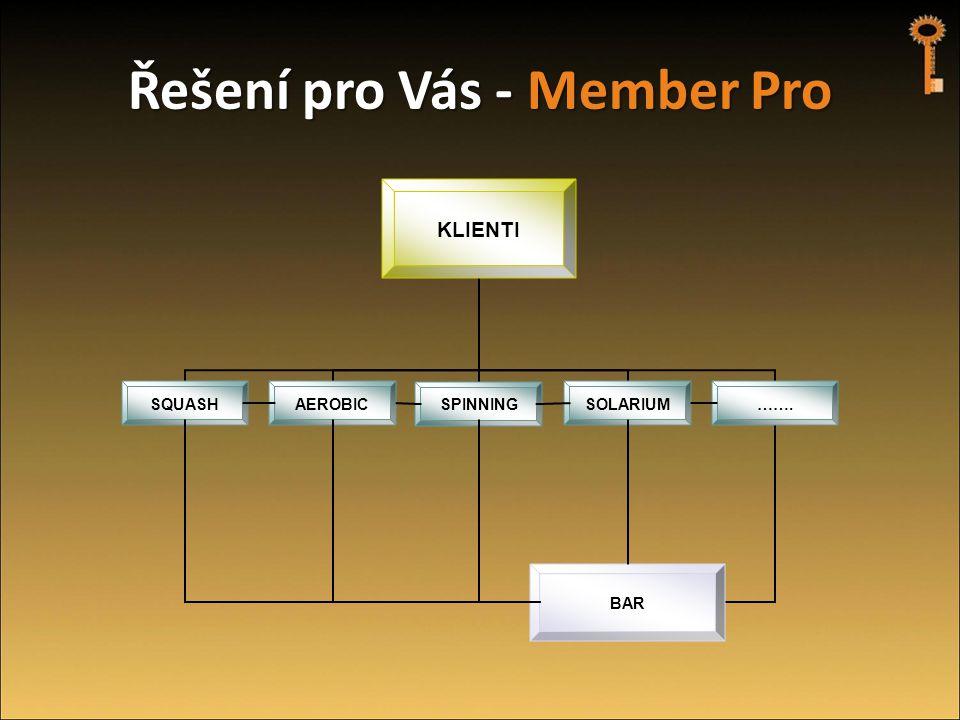 Řešení pro Vás - Member Pro