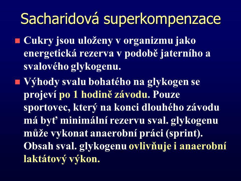 Sacharidová superkompenzace