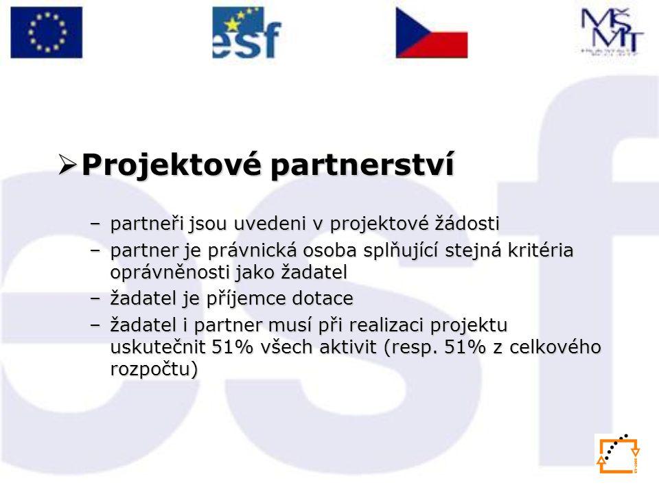 Projektové partnerství