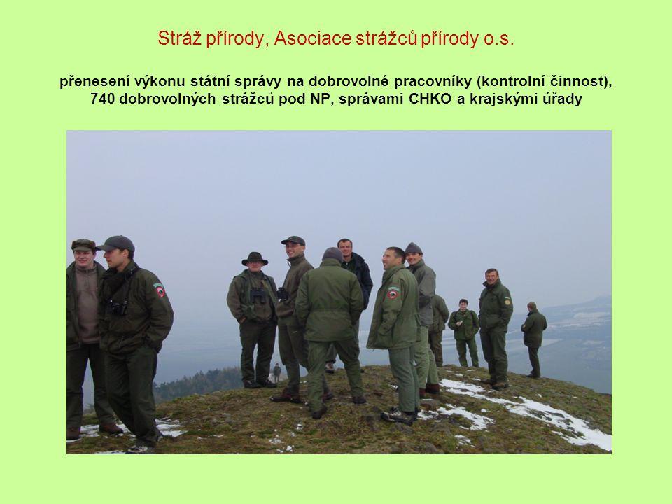 Stráž přírody, Asociace strážců přírody o. s