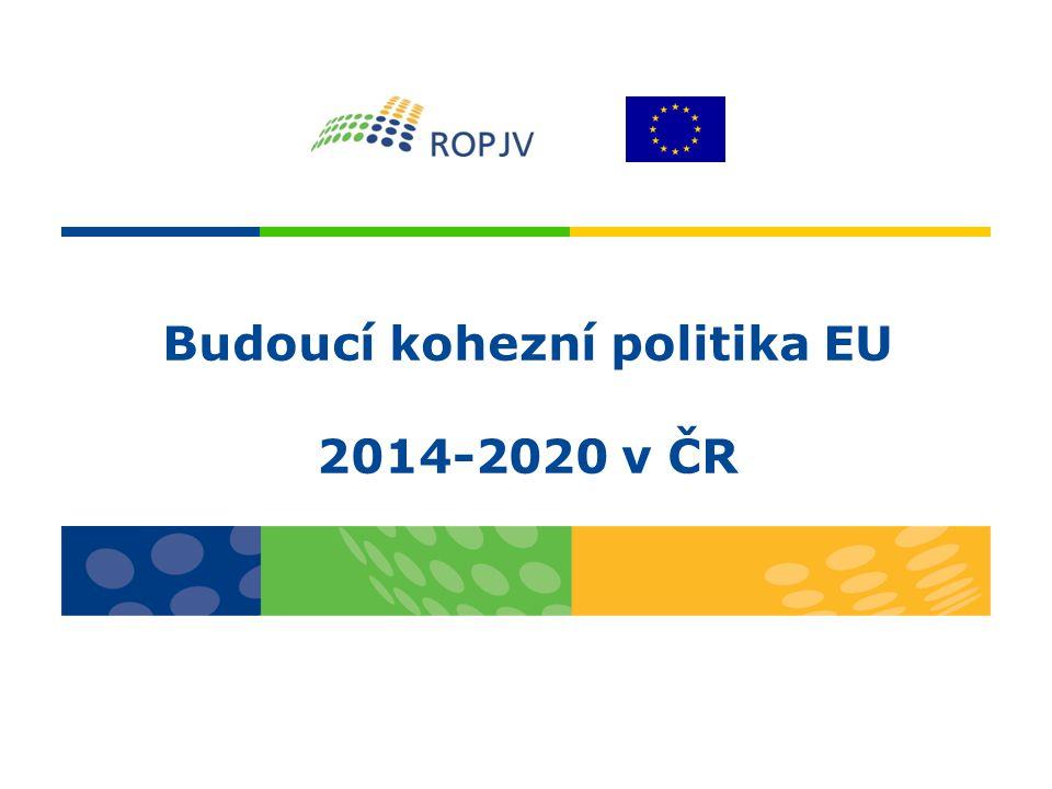 Budoucí kohezní politika EU