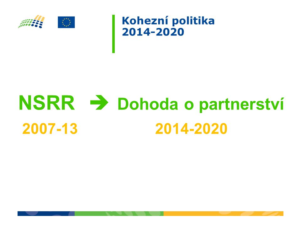 NSRR  Dohoda o partnerství