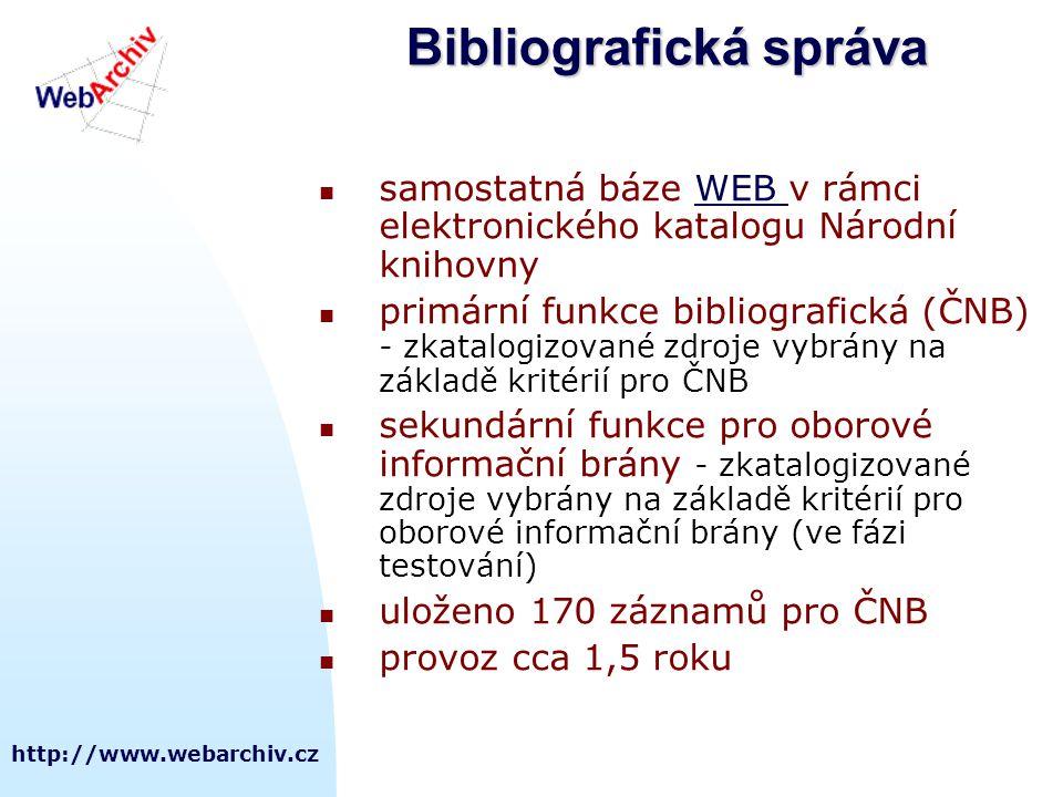 Bibliografická správa