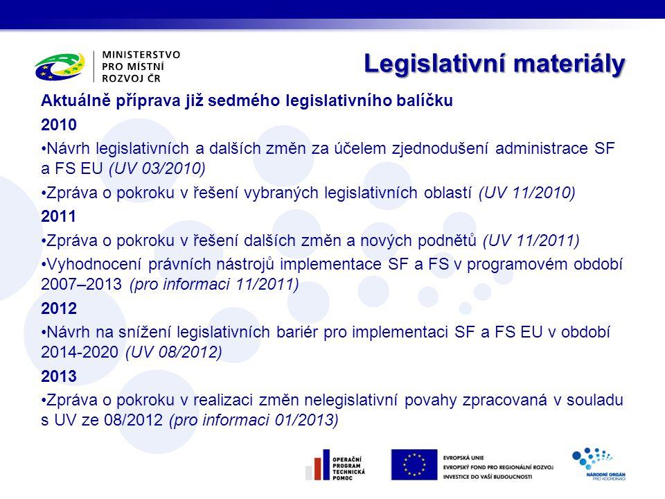 Legislativní materiály