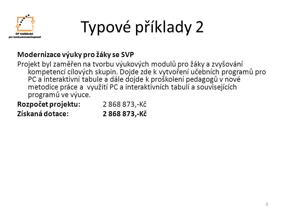 Typové příklady 2