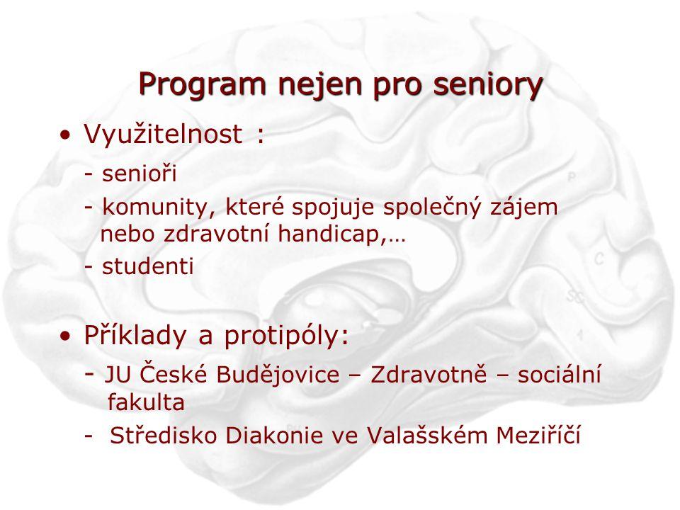 Program nejen pro seniory