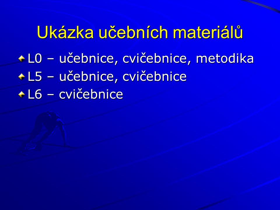 Ukázka učebních materiálů