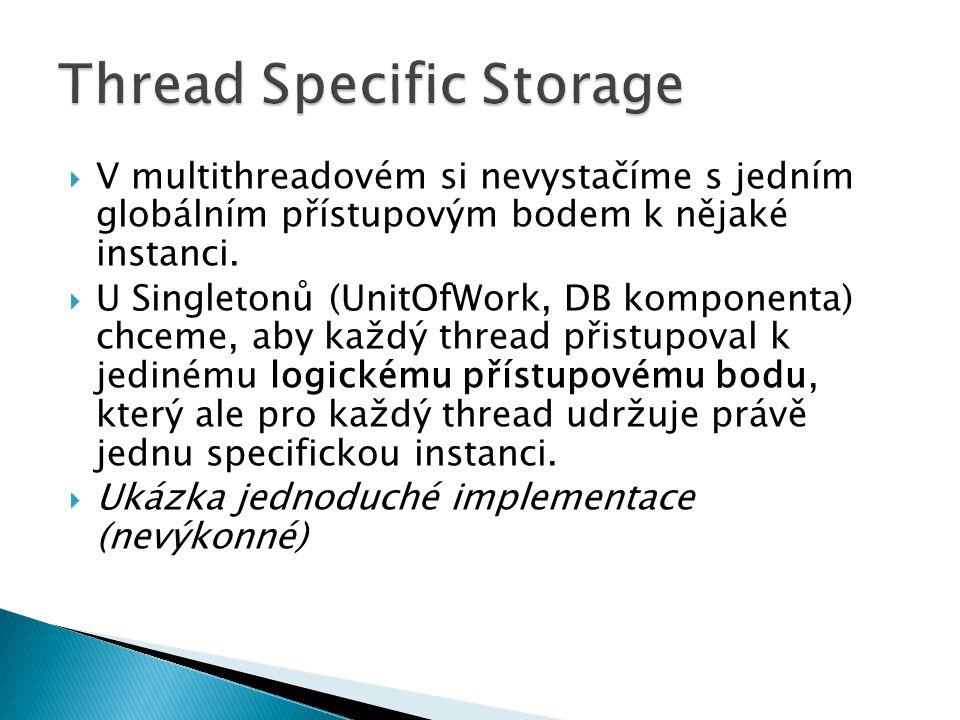 Thread Specific Storage