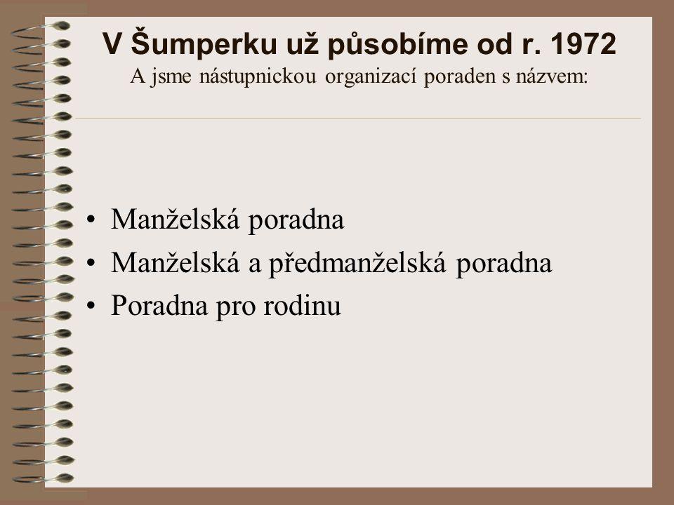 V Šumperku už působíme od r