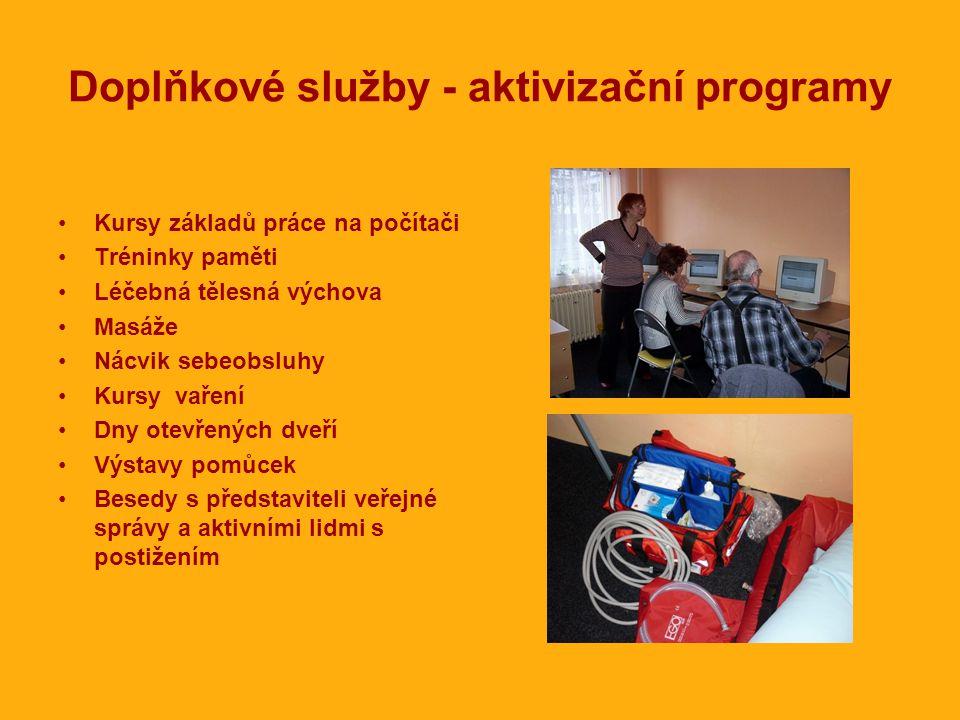 Doplňkové služby - aktivizační programy