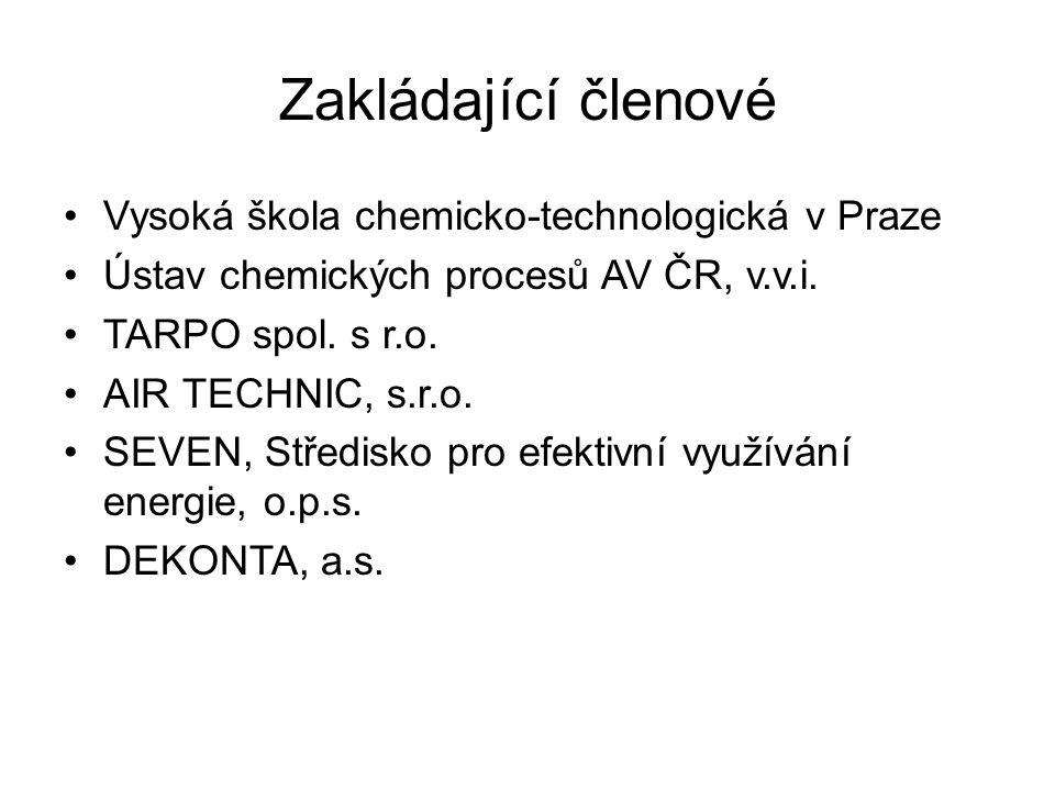 Zakládající členové Vysoká škola chemicko-technologická v Praze