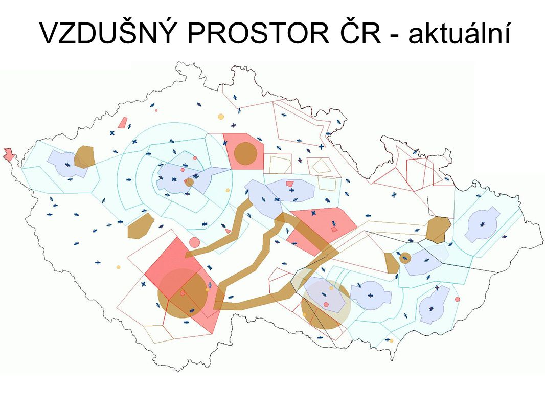 VZDUŠNÝ PROSTOR ČR - aktuální