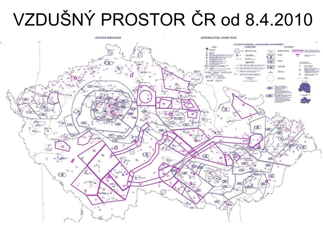 VZDUŠNÝ PROSTOR ČR od 8.4.2010