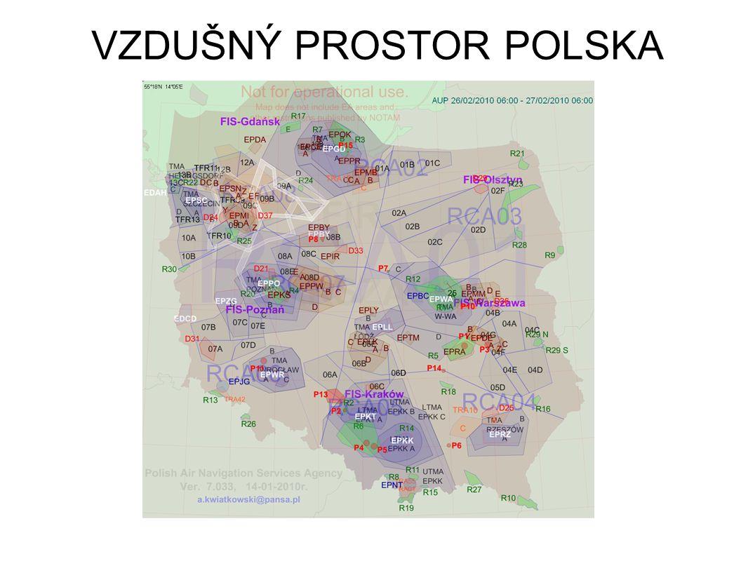 VZDUŠNÝ PROSTOR POLSKA