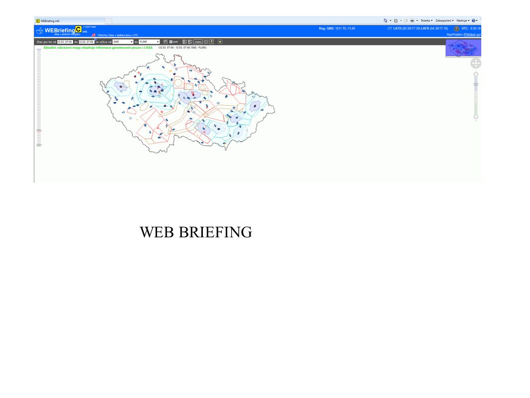 WEB BRIEFING